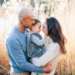 Winter Mood Family Session in Centennial Park