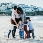 Beach Session with Gorgeous Family of Five