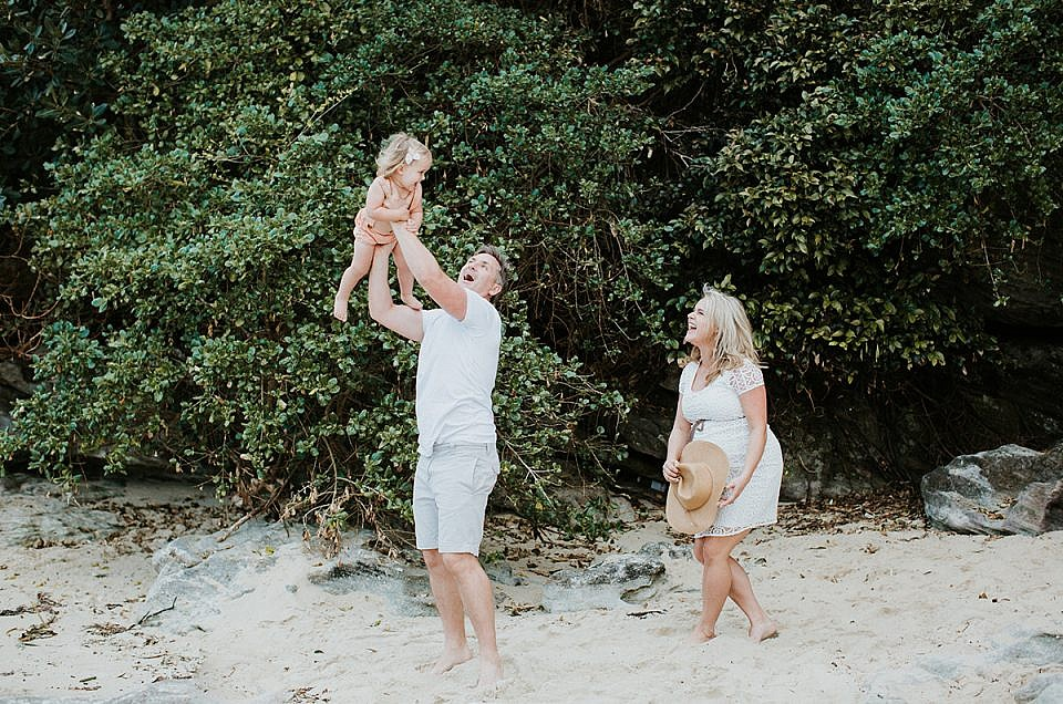 Little Manly Beach Maternity Session