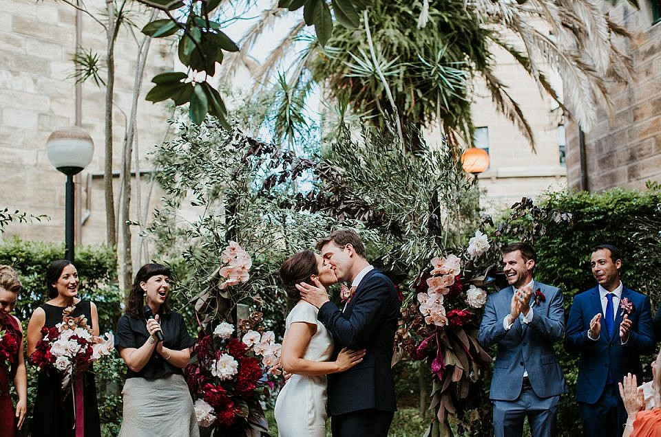 Tim & Edwina – Darlinghurst Wedding in Cell Block Theatre
